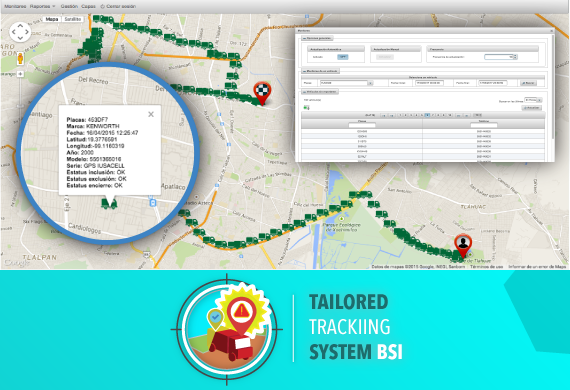 Tailored Tracking System BSI